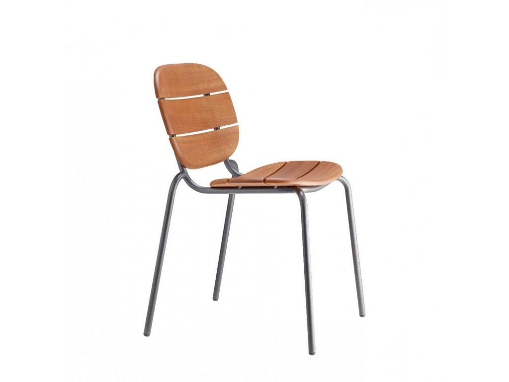 Exteriérová stolička SI SI WOOD