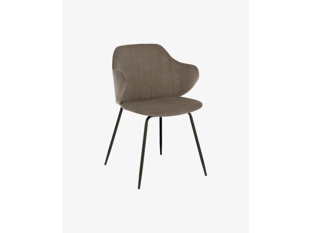 SUANNE jedálenská stolička, šedá