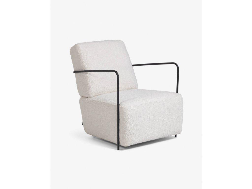GAMER lounge kreslo, biele