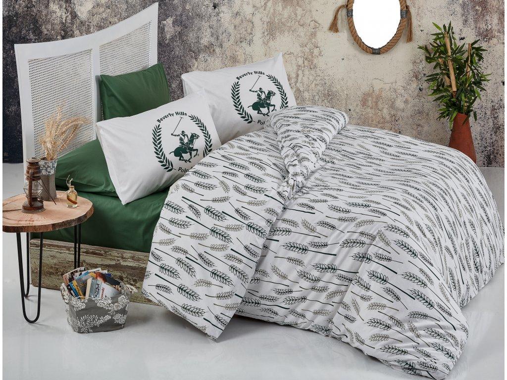 BEVERLY HILLS POLO CLUB 036 set posteľných obliečok, zelený