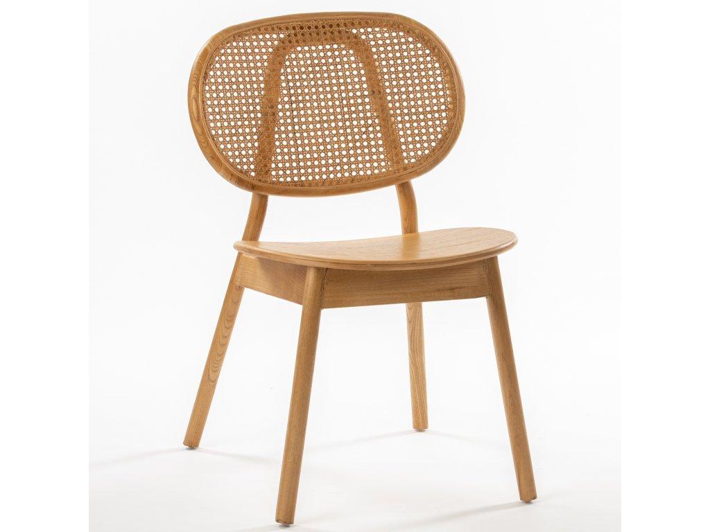 AMSTERDAM drevená stolička