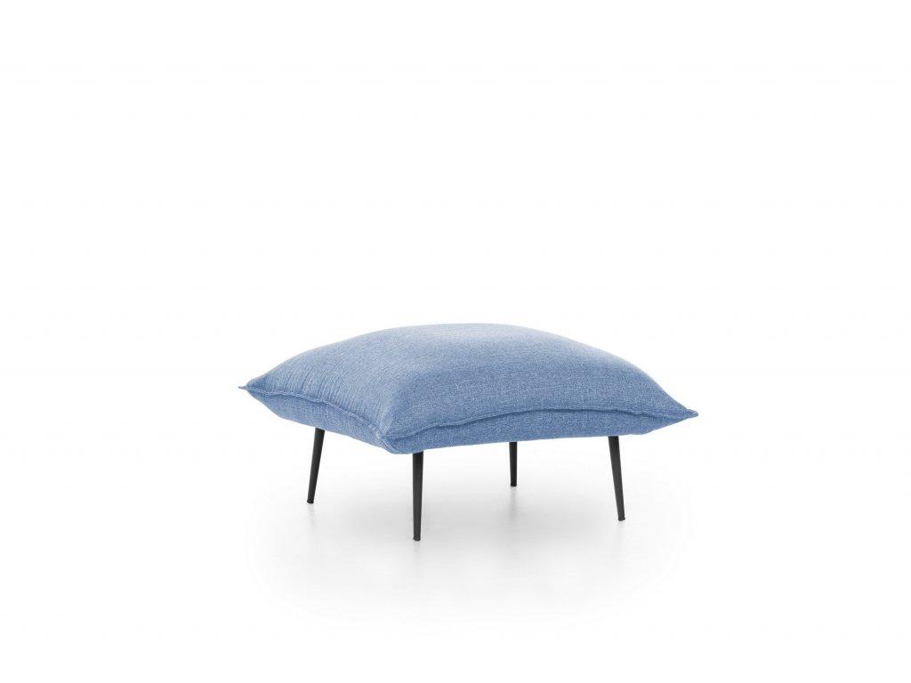ASPEN taburet, modrý