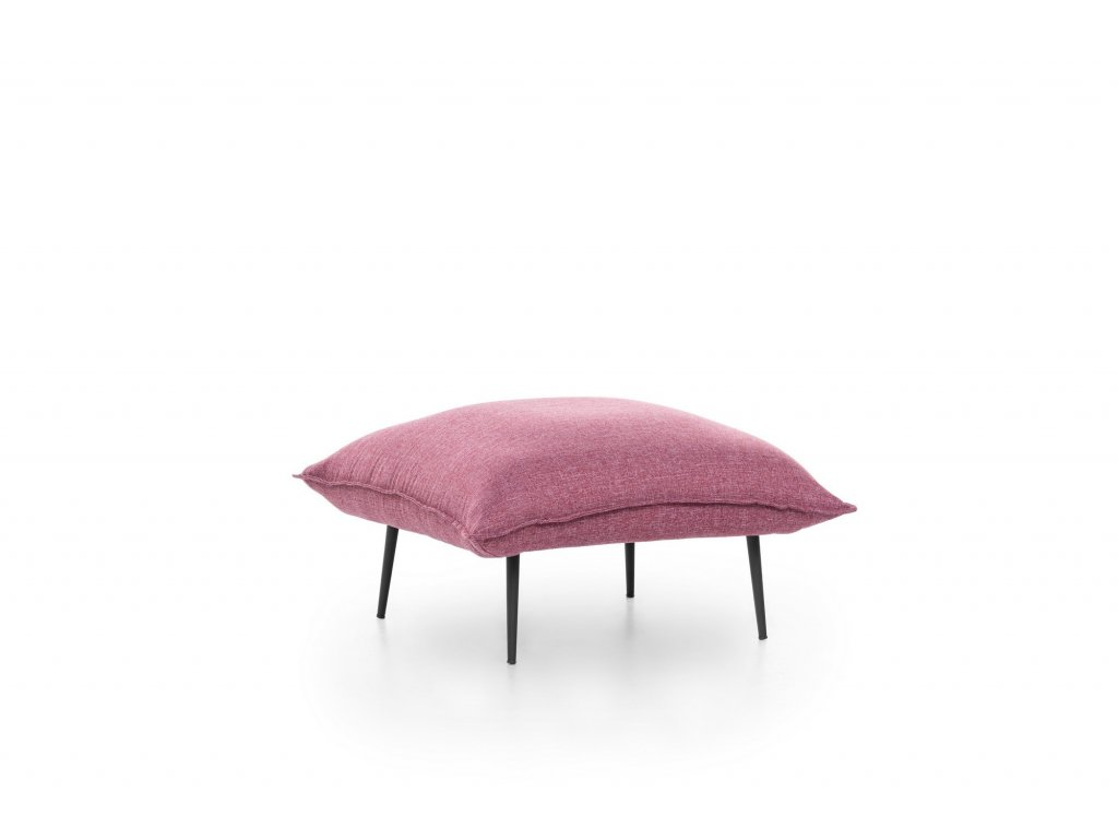 ASPEN taburet, rúžový