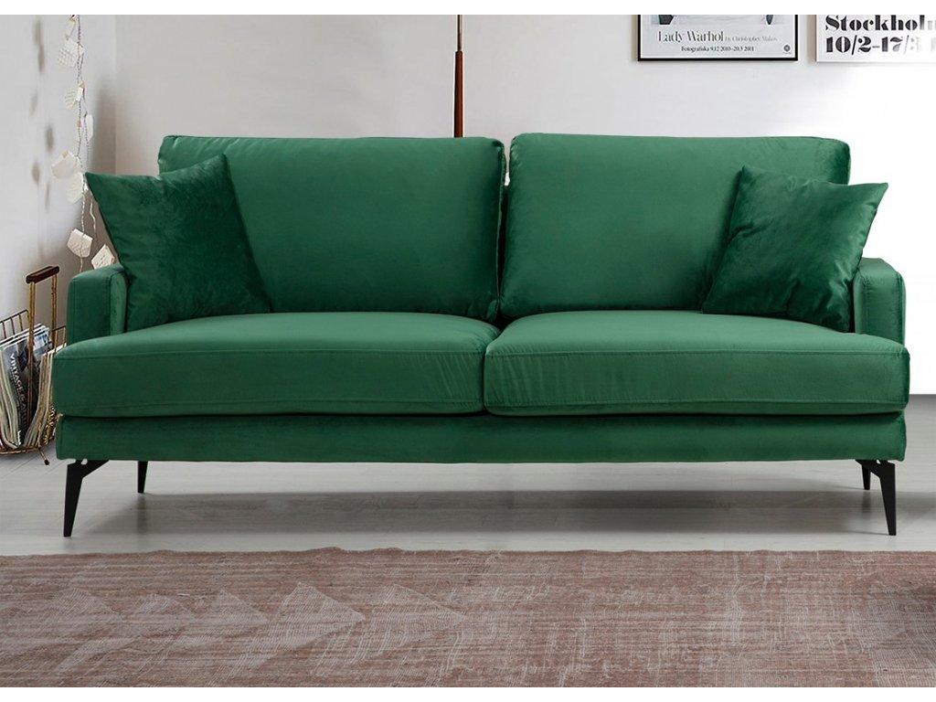 PAPIRA dvojpohovka, zelená