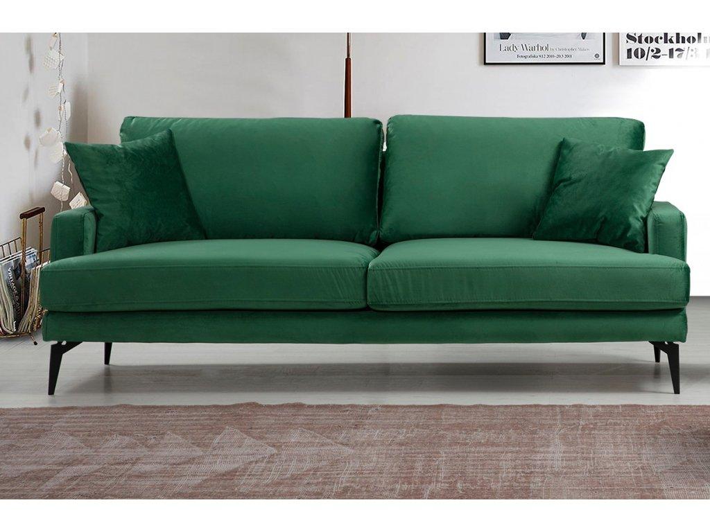 PAPIRA trojpohovka, zelená