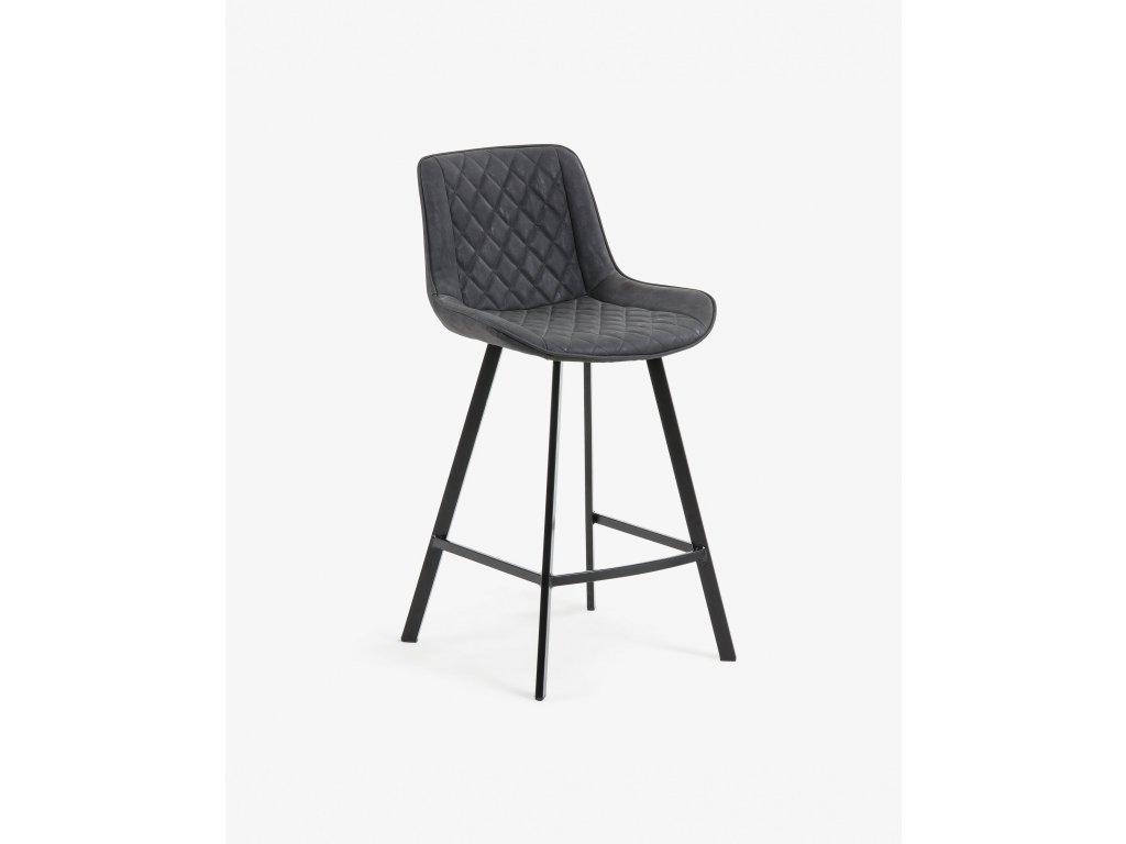 ADELA barová stolička Graphite