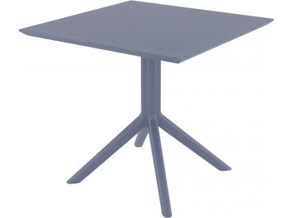SKY exteriérový stôl , 80 x 80 cm