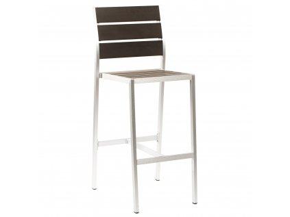 Exteriérová barová stolička MIGUEL