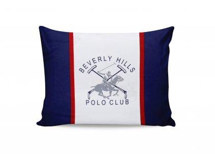 BEVERLY HILLS POLO CLUB 001 obliečka na vankúš, tmavomodrá