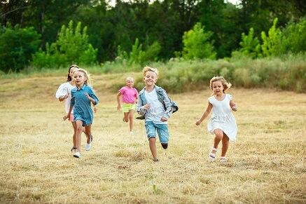 Jak zabavit děti venku?