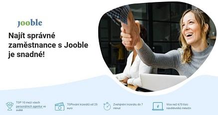 Vyhledávač pracovních nabídek Jooble
