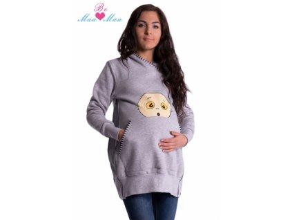 Těhotenské a kojící mikiny