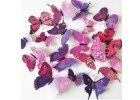 Dekorace na zeď motýli
