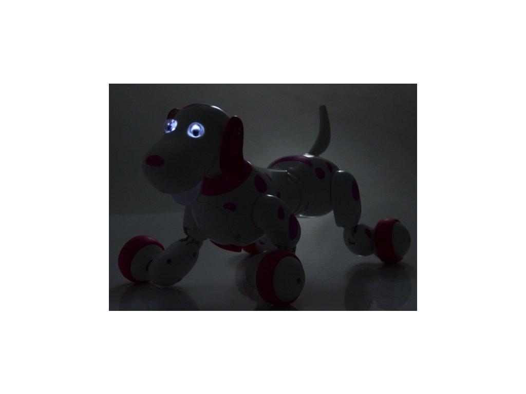 Robo-Dog - Pes na dálkové ovládání - černá  + Nanopodložka, loupač, nebo desinfekce
