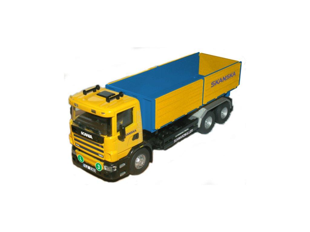 SEVA Monti System 67 Auto Scania SKANSKA stavebnice MS67 0110-67