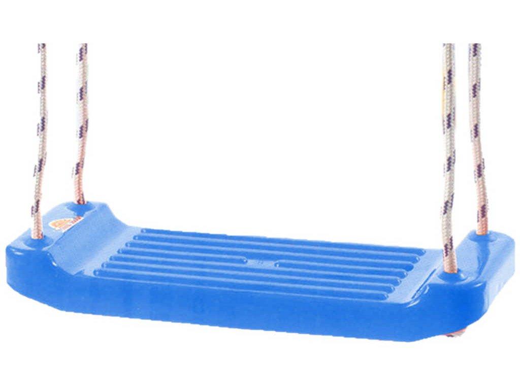 MAD Houpačka modrá závěsná 43x17cm plastové prkénko