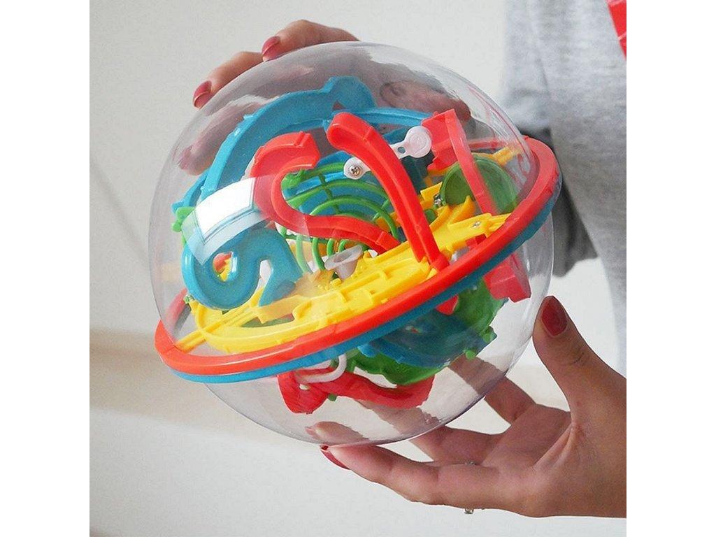 Intellect ball - 118 překážek