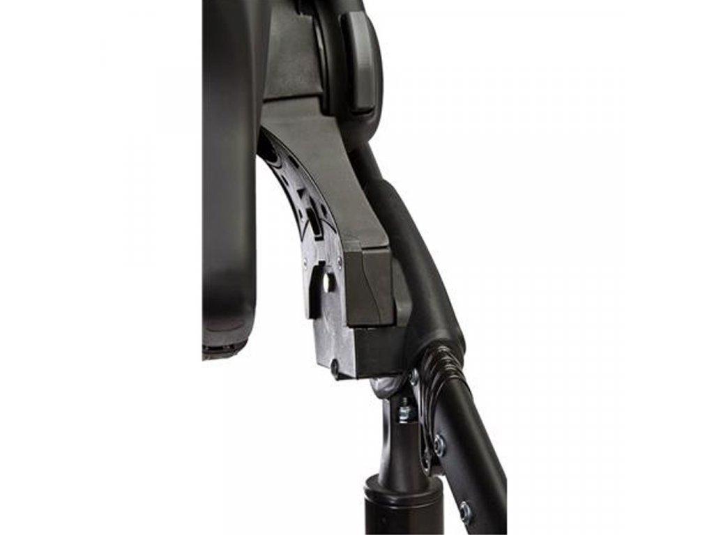 Univerzální adaptéry na autosedačku ke kočárku Camini - černá