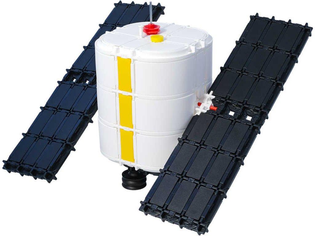 SEVA Vesmír Družice plastová STAVEBNICE 425 dílků  + Nanopodložka, loupač, nebo desinfekce