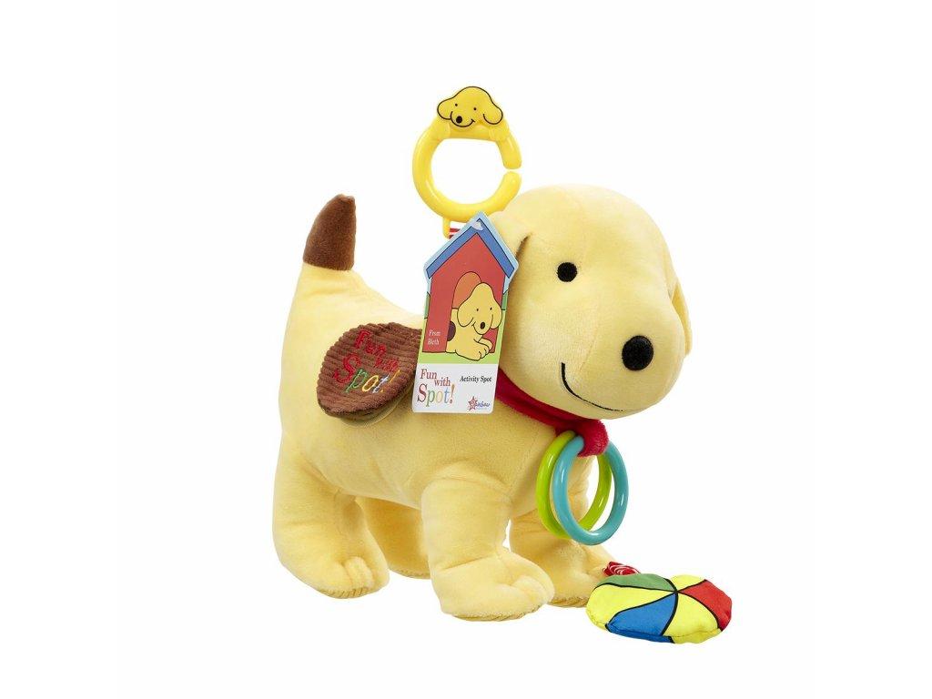 Rainbow Plyšové hravé štěně