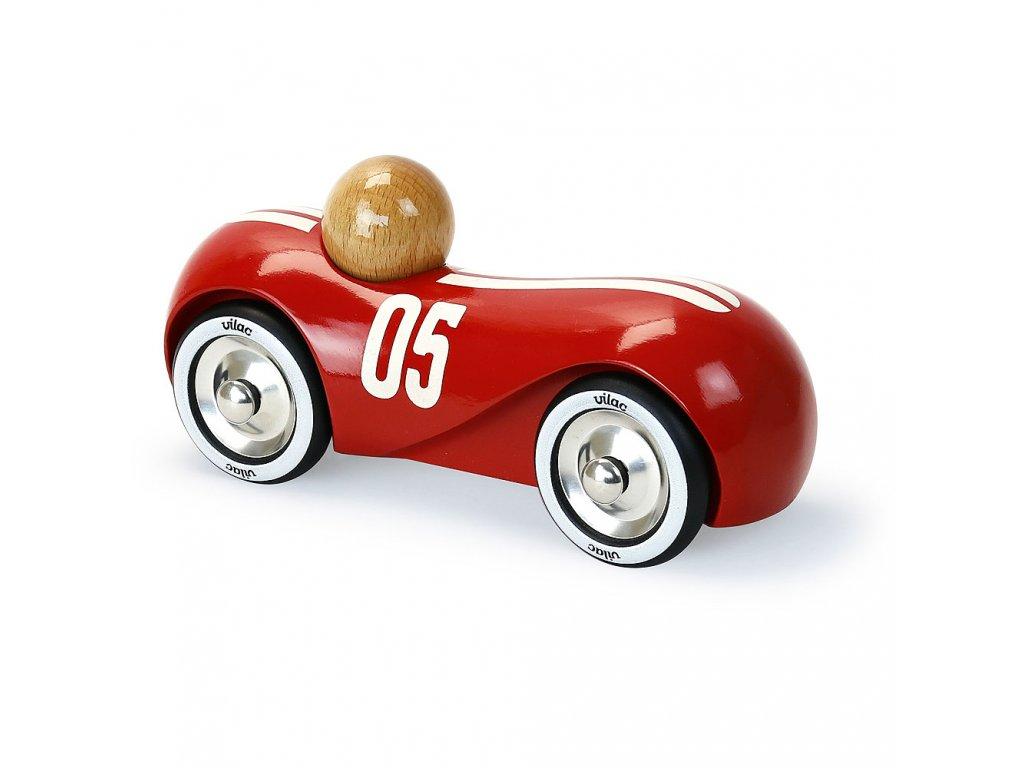 Vilac Dřevěné auto Streamline vintage červené