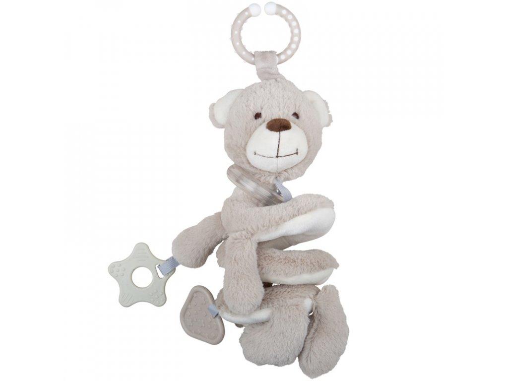 Bigjigs Baby Chrastítko medvídek spirála