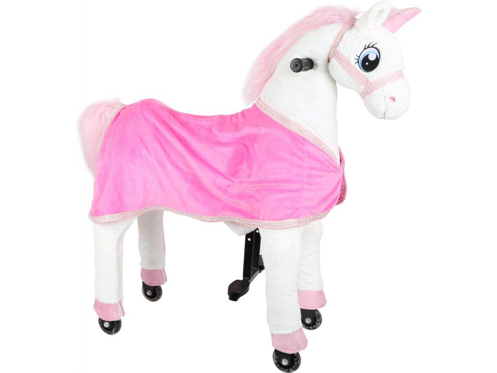 Small Foot Jezdecký kůň jednorožec Unicorn  + Nanopodložka, loupač, nebo desinfekce