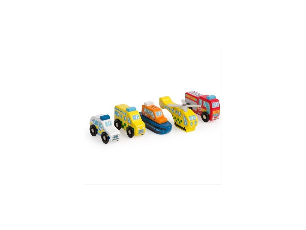 Tidlo Set záchranných vozidel