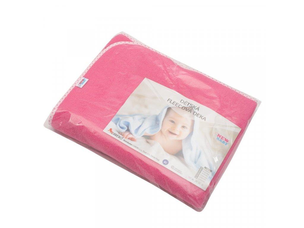 Dětská fleecová deka New Baby 100x75