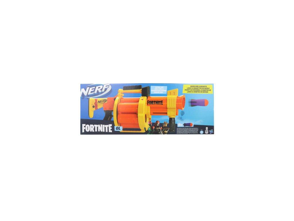 Nerf Fortnite GL  + Nanopodložka, loupač, nebo desinfekce