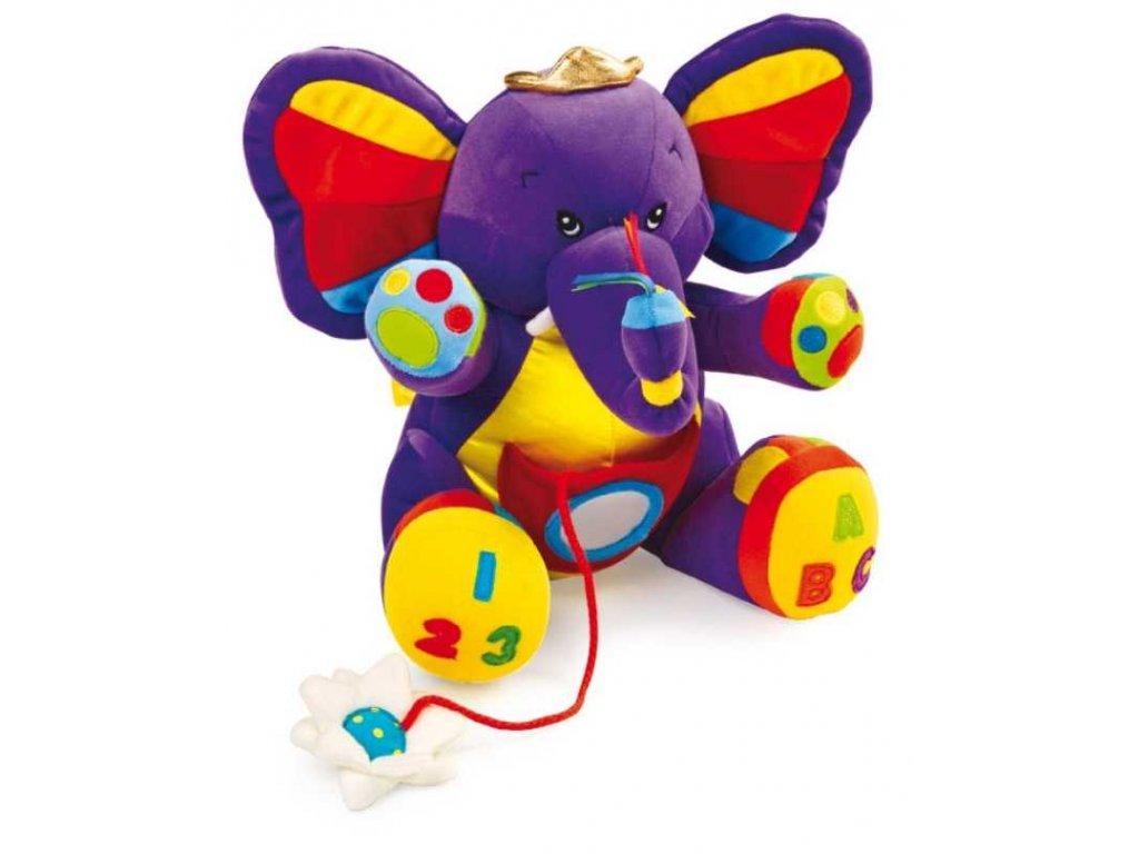 Textilní hračky Slon Lili