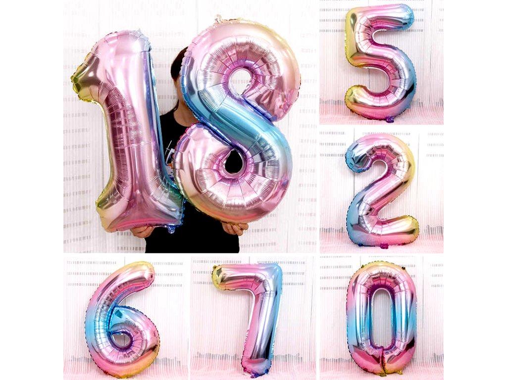 Nafukovací balónky čísla - 6