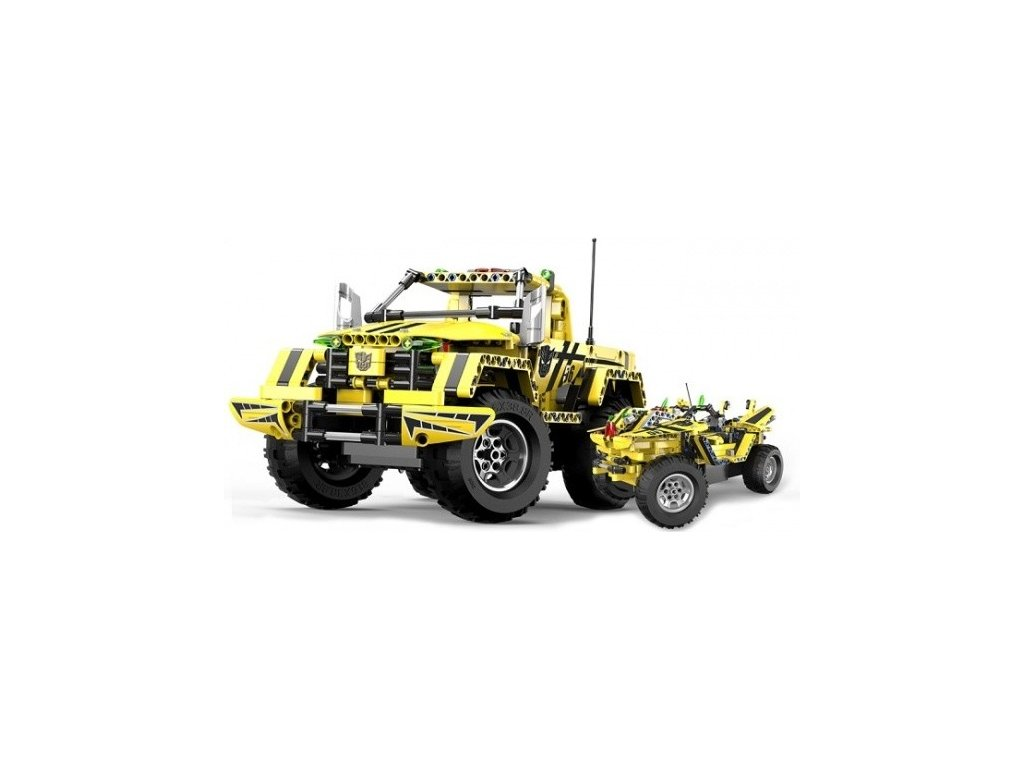 Stavebnice Pick-Up King 2v1 - auto na dálkové ovládání