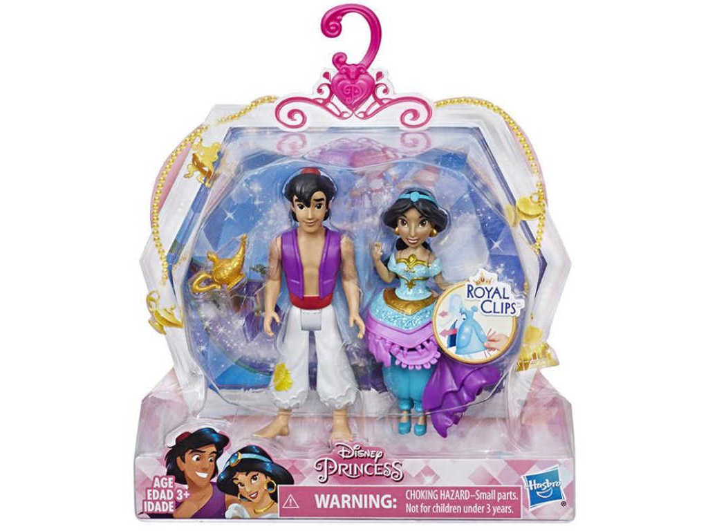 HASBRO Disney panenka princezna a princ herní set 2 druhy plast