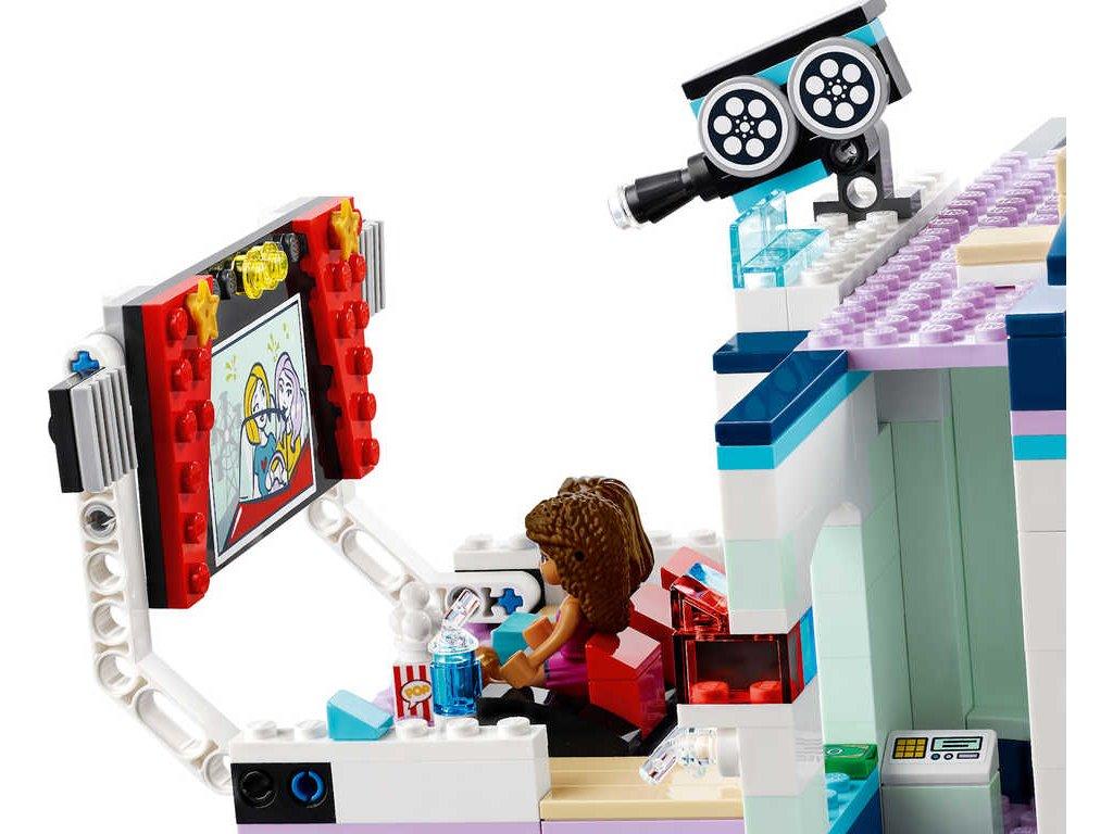 LEGO FRIENDS Kino v městečku Heartlake 41448 STAVEBNICE  + Nanopodložka, loupač, nebo desinfekce