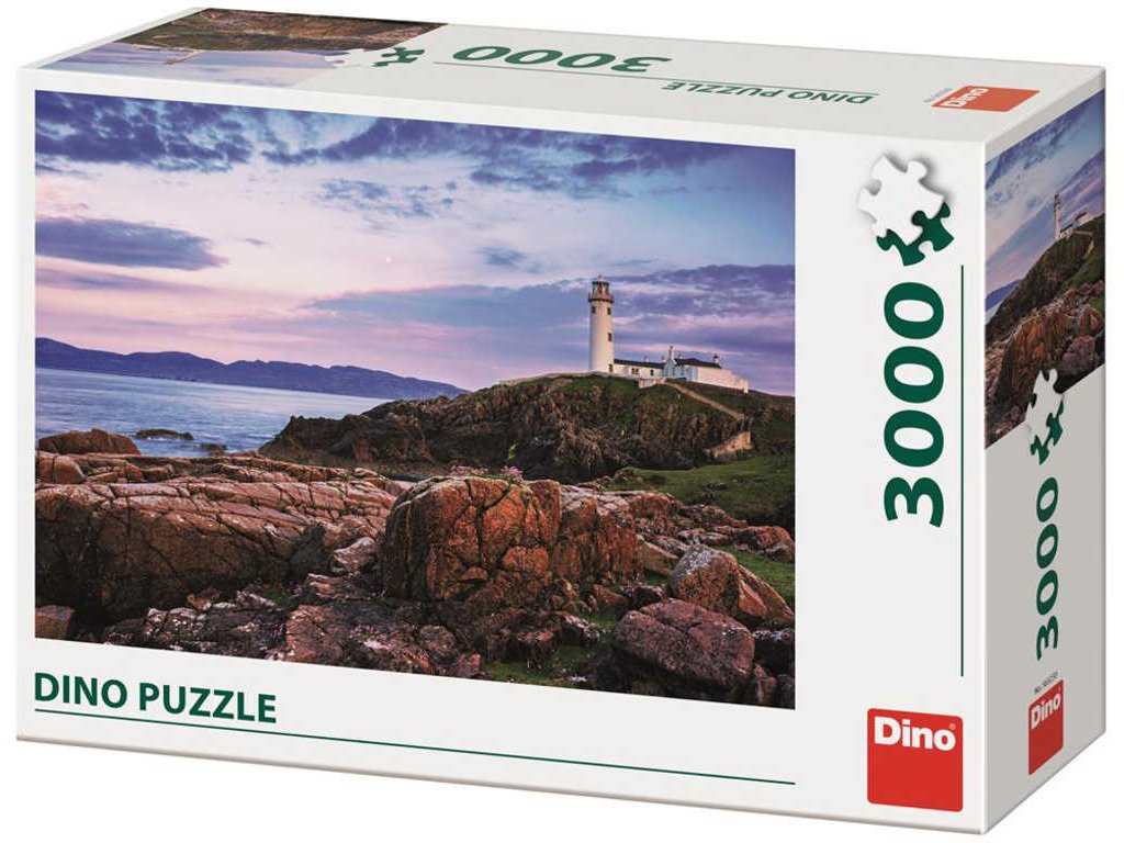 DINO Puzzle 3000 dílků Maják foto 117x84cm skládačka