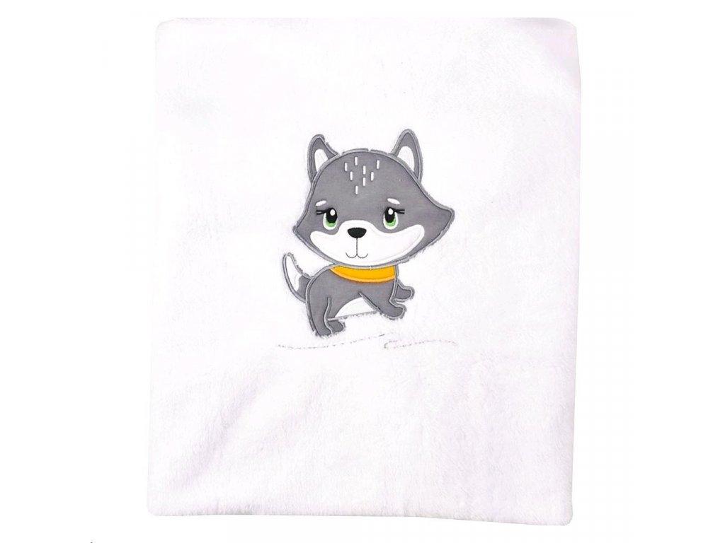 Dětská deka Koala Doggy - bílá