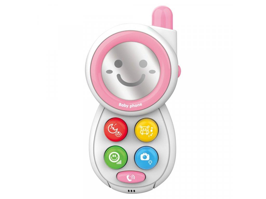 Dětský telefónek se zvuky BAYO