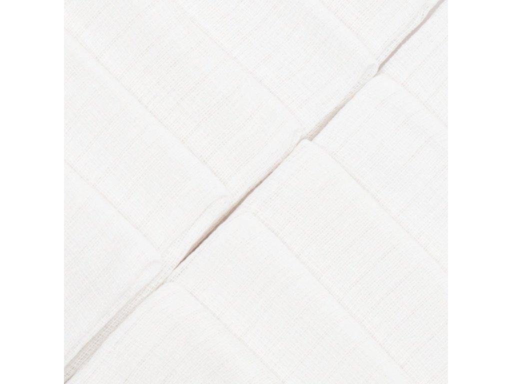 Bavlněné pleny NEW BABY 80x80 cm STANDARD 10 ks - bílá