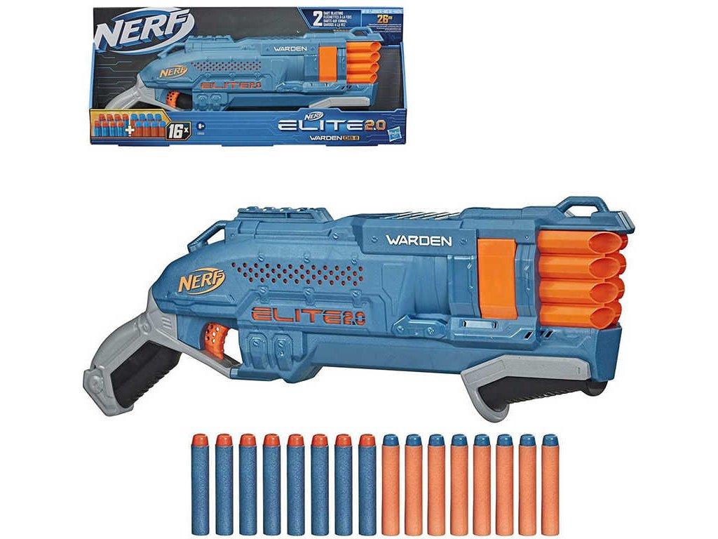 HASBRO NERF ELITE 2.0 Warden DB-8 Set blaster + 16 šipek