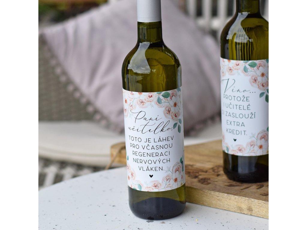 Víno - Velká regenerace pro paní učitelku