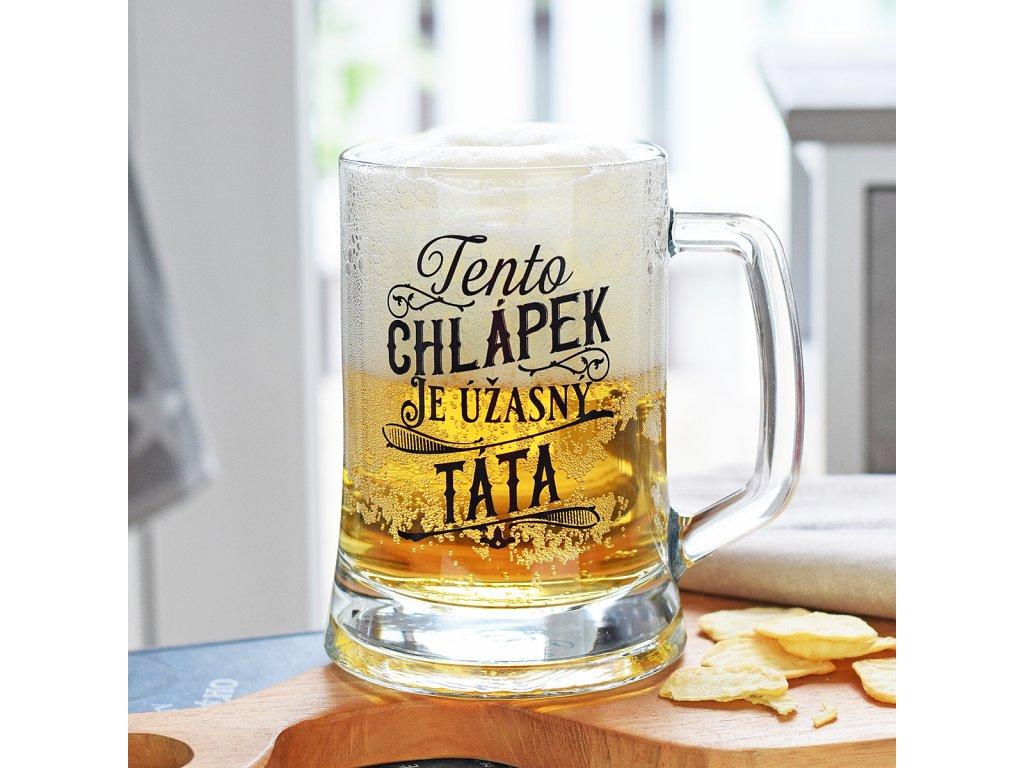 Pivní džbánek pro tatínka
