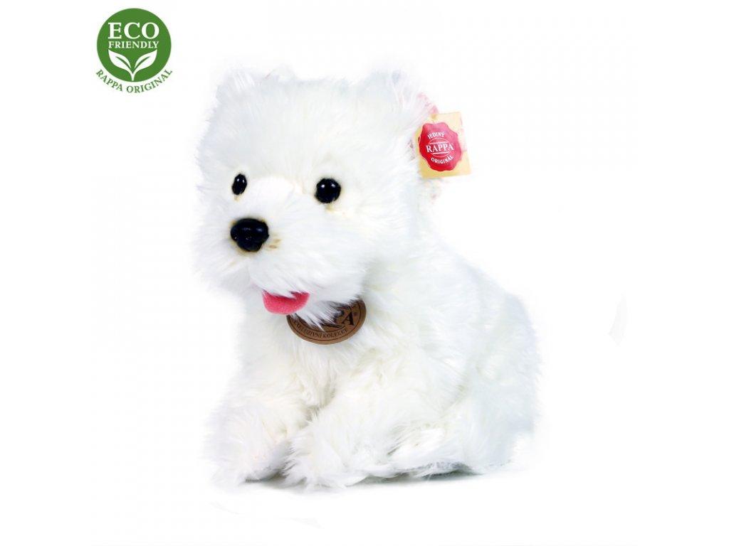 Plyšový pes westík sedící 23 cm