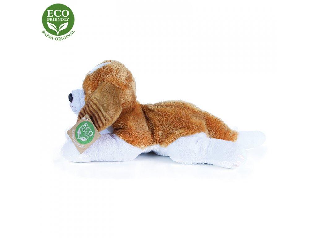 Plyšový pes King Charles Španěl ležící 18 cm se zvukem ECO-FRIENDLY