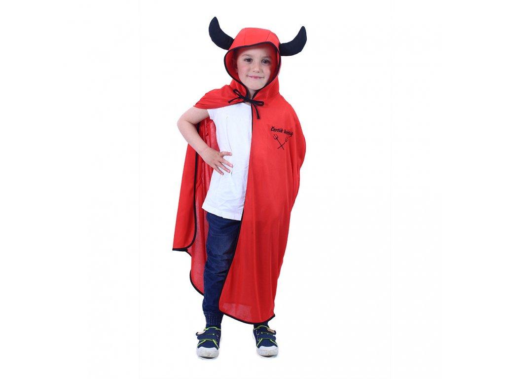 Dětský plášť čertík Bertík