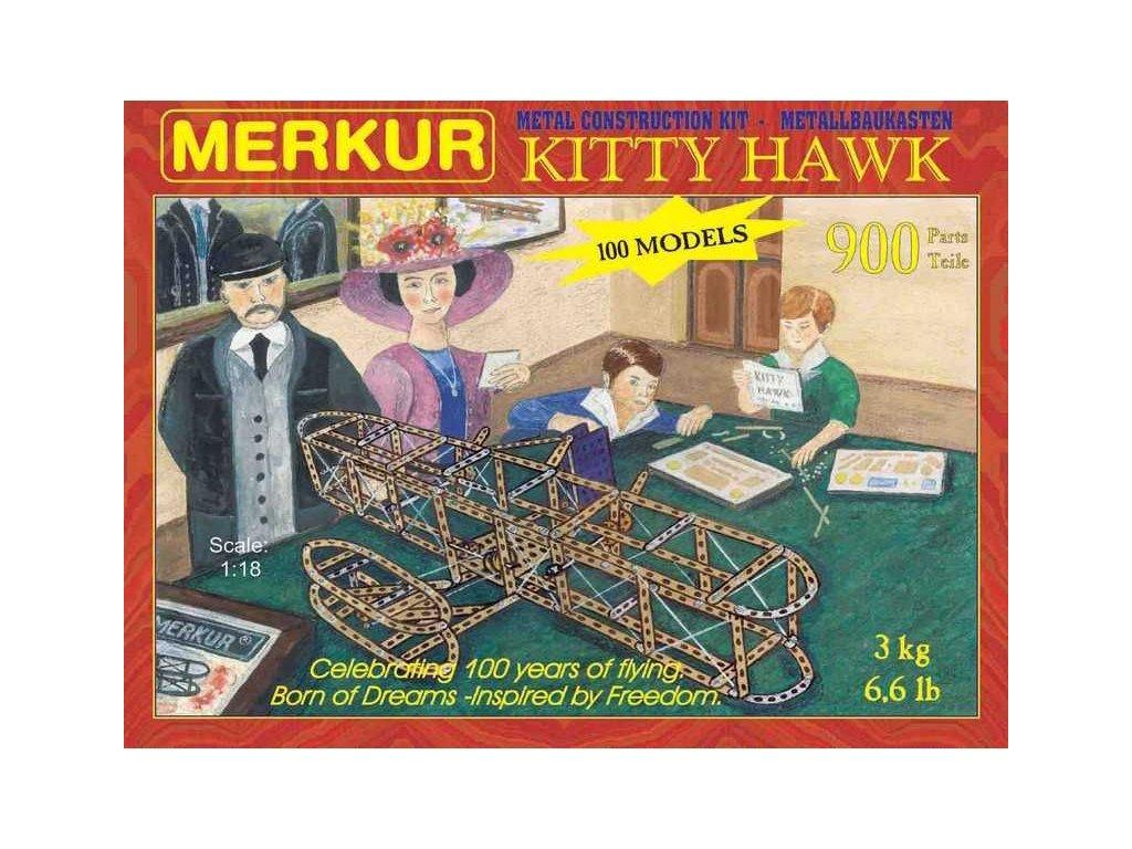 Merkur Kitty Hawk, 900 dílů, 100 modelů  + Nanopodložka, loupač, nebo desinfekce