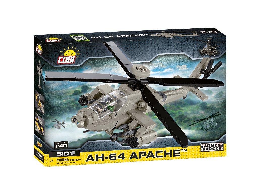 Stavebnice Armed Forces AH-64 Apache, 1:48, 510 k  + Dárek zdarma