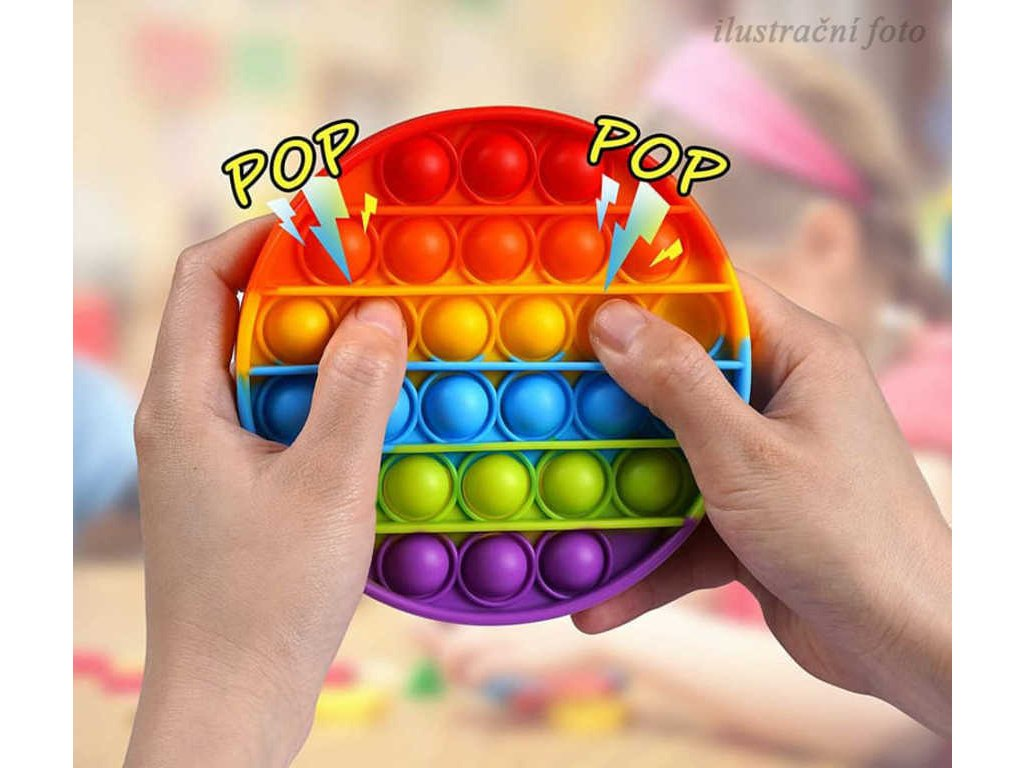 Hra Pop It antistresová Bubble Pops silikon velryba / dinosaurus *SPOLEČENSKÉ HRY*