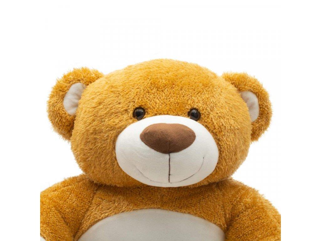 Dětské křesílko PlayTo medvídek - hnědá  + Dárek zdarma
