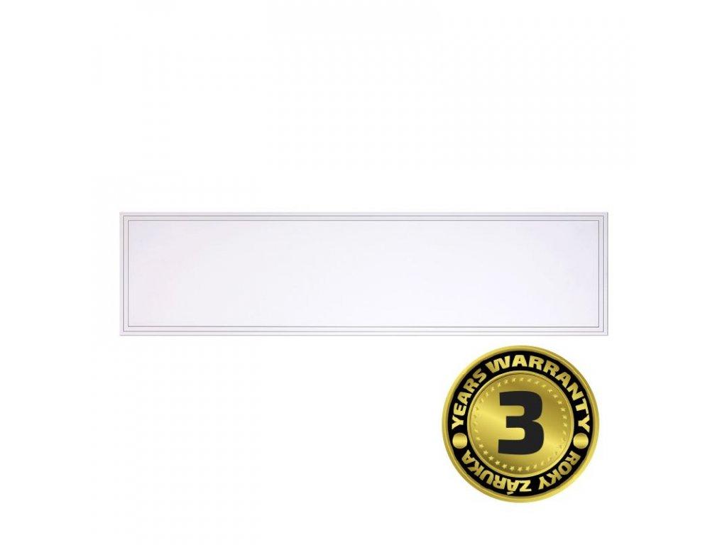 Solight LED světelný panel Backlit, 40W, 4000lm, 4000K, Lifud, 30x120cm, 3 roky záruka, bílá barva  + Dárek zdarma